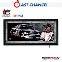Dale Earnhardt Light Of A Legend Wall Decor