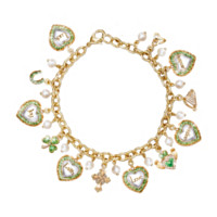 Irish Wishes Charm Bracelet