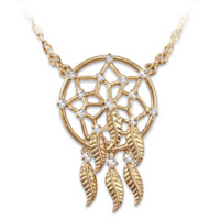 Sacred Spirit Dreamcatcher Necklace