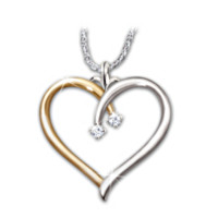 Love Always Diamond Pendant Necklace