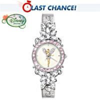 Tinker Bell's Reflections Of Time Women's Watch