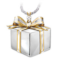 Grandma's Gift Diamond Pendant Necklace