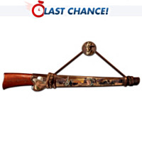 John Wayne: Legends Of The West Replica Rifle Wall Decor