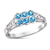 Blue Splendor Women's Ring