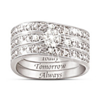 Hidden Message Of Love Diamond Women's Ring