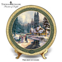 Thomas Kinkade Holiday At Winter's Glen Collector Plate