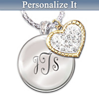 My Blessed Daughter Personalized Pendant Necklace