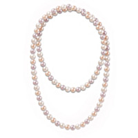 One Hundred Good Wishes Cultured Pearl Necklace