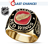 Detroit Red Wings® Men's Ring