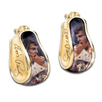 Elvis Aloha Reversible Earrings