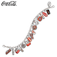 The Ultimate COCA-COLA Through The Years Charm Bracelet
