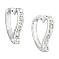 Love In My Heart Diamond Earrings