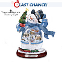 Thomas Kinkade Winter Wonderland Figurine