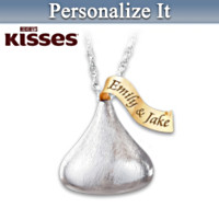 The HERSHEY'S KISSES Personalized Pendant Necklace