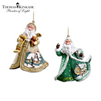 Ring In The Joy And Christmas Eve Ornament Set