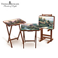 Thomas Kinkade Tray Tables