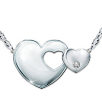 Always My Daughter Diamond Necklace