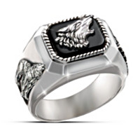 The Call Of The Wild Men's Ring
