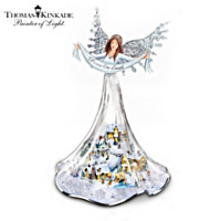 Thomas Kinkade Angel Of Peace Figurine