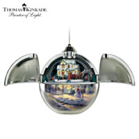 Thomas Kinkade Family Gathering Ornament