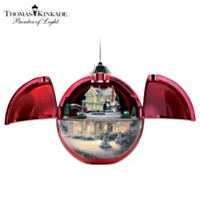 Thomas Kinkade Christmas Hideaway Ornament