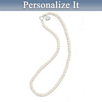 To My Bridesmaid Personalized Necklace