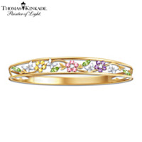 Thomas Kinkade Memories Of Beauty Floral Bracelet