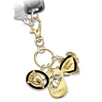 USMC Show Your Pride Collector Key Chain