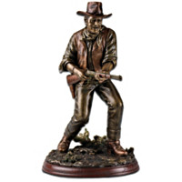 John Wayne Lawman Sculpture