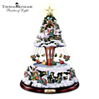 Thomas Kinkade Winter Festival Tree