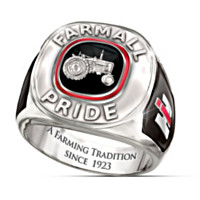 Farmall Pride Men's Ring
