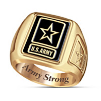 The U.S. Army Men's Ring