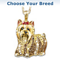 Best In Show Crystal Pendant Necklace