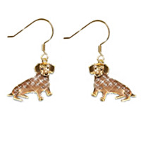 Best In Show Dachshund Earrings