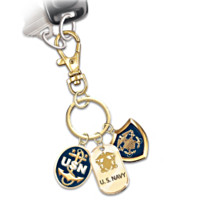 U.S. Navy Show Your Pride Key Chain