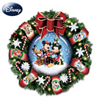 Disney Let It Snow Wreath