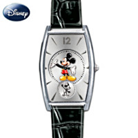 Mickey Now & Then Women's Watch