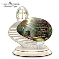 Thomas Kinkade's Loving Remembrance Candleholder