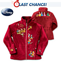 Disney Magic Of Christmas Fleece Jacket