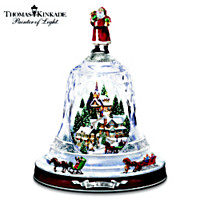 Thomas Kinkade Ring In The Season Table Centerpiece