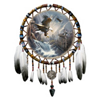 Dreams Of The Sacred Spirits Dreamcatcher