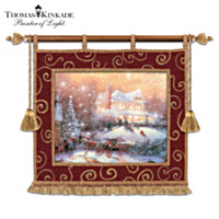 Thomas Kinkade Christmas Traditions Wall Decor
