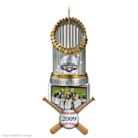 The 2009 World Series Champions New York Yankees Ornament