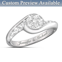 Celebration Of Love Personalized Diamond Ring