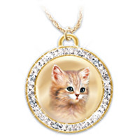 A Cat Is A Friend Fur-Ever Pendant Necklace