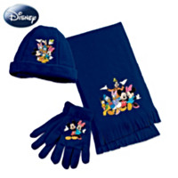 The Magic Of Disney Women's Scarf Set