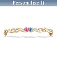 Love's Journey Personalized Women's Bracelet