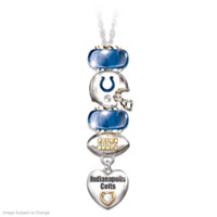 Go Colts! #1 Fan Necklace