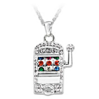 Lucky Jackpot Pendant Necklace