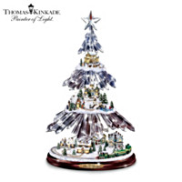 Thomas Kinkade Season's Splendor Tabletop Tree